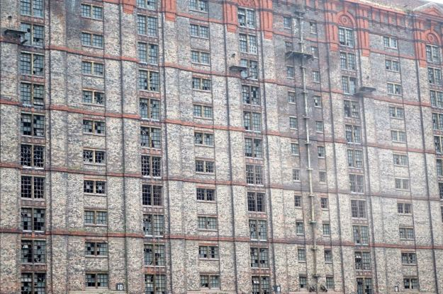 The largest brick building on Earth.