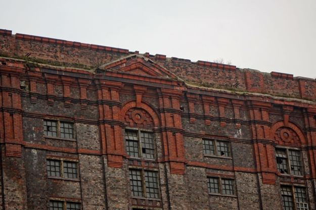 And ending its days as a working warehouse in the 1980s.