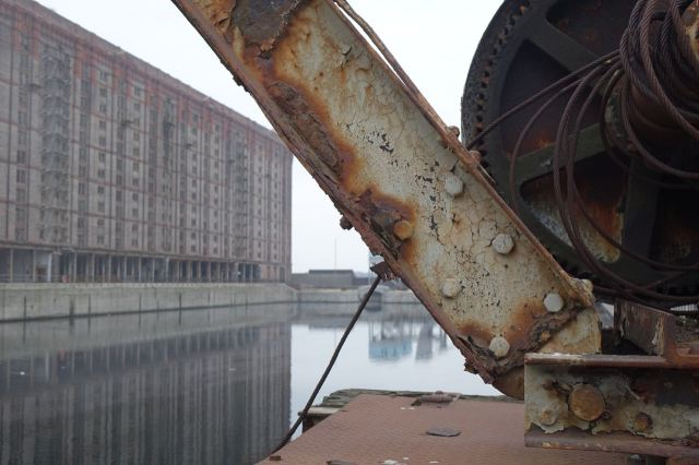 That crane.