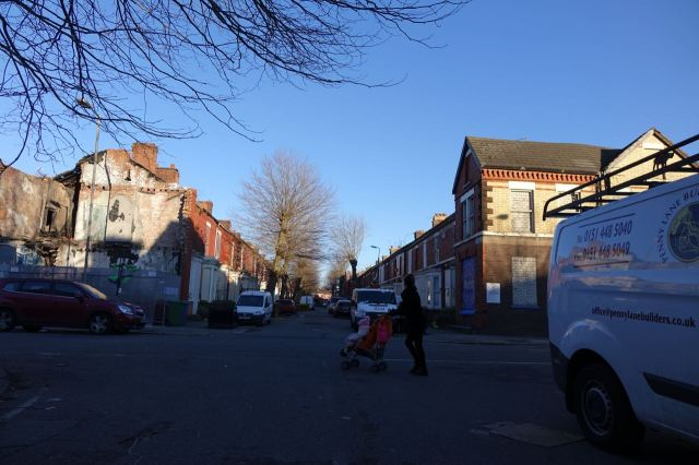 A busy day on Cairns Street.