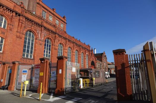 The old Higson's brewery. Waiting to become a market place, I think.