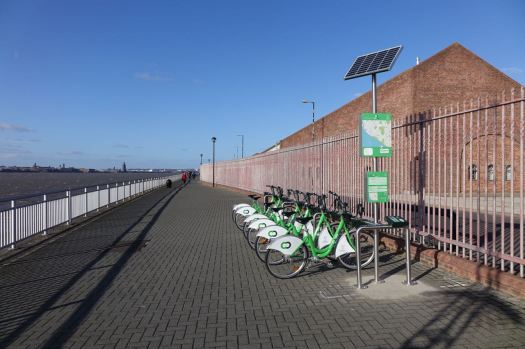 The City Bikes have made it along here.