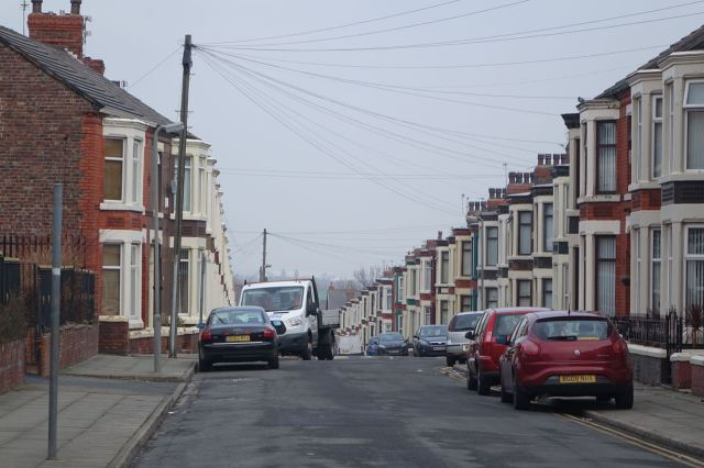 Even now much of Anfield is well settled and loved streets of terraced houses.