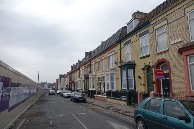 Plus the facing half of Alroy Road.