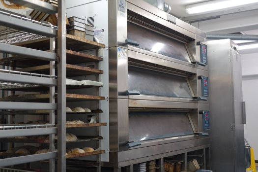 Where the smell of fresh bread is all around us.