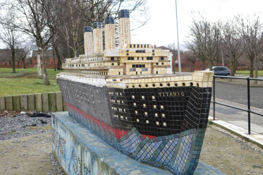 But never mind, the Titanic's still here.