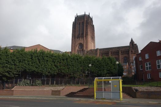 Watched over by the Cathedral.