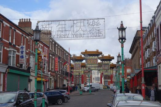 Nelson Street ready for New Year.