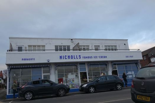 Along to Parkgate, to Nicholl's.