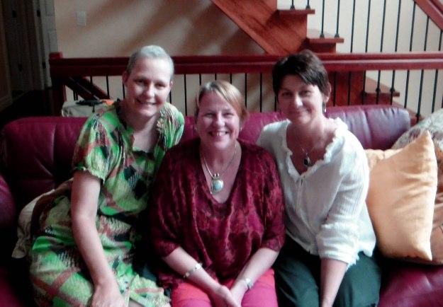 Rach, Sarah and Gayle, June 2011.