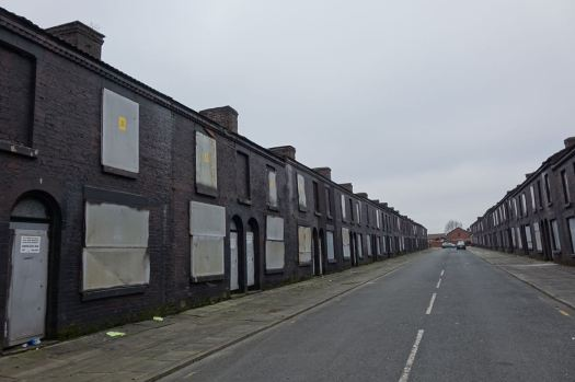 And the desolation of Powis Street.