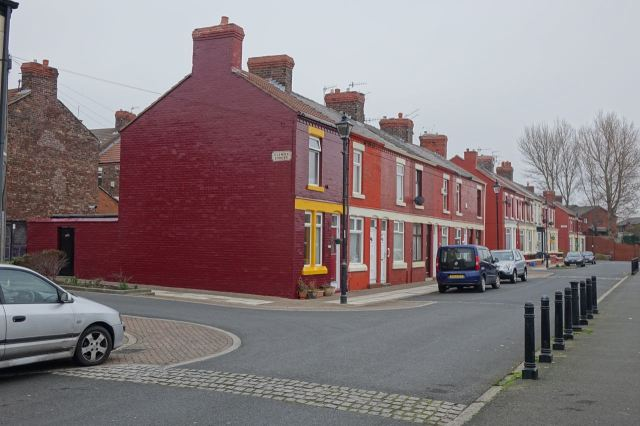 Streets much like the Welsh Streets.