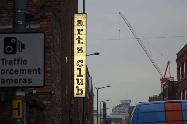 Into Seel Street, the newly hip.
