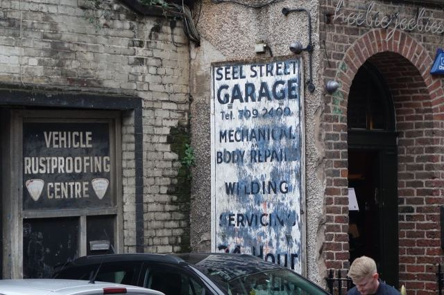Looks like a ghost sign but don't assume it is.