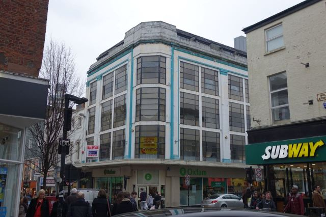 Then here, where I spent my working days in the 1980s.