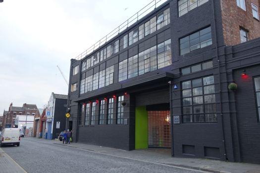 Past Parr Street Studios.