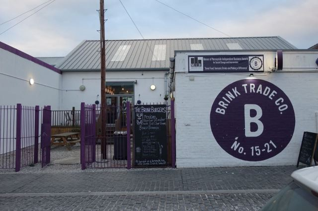 Past The Brink. Social enterprise, dry bar, all round interesting place.