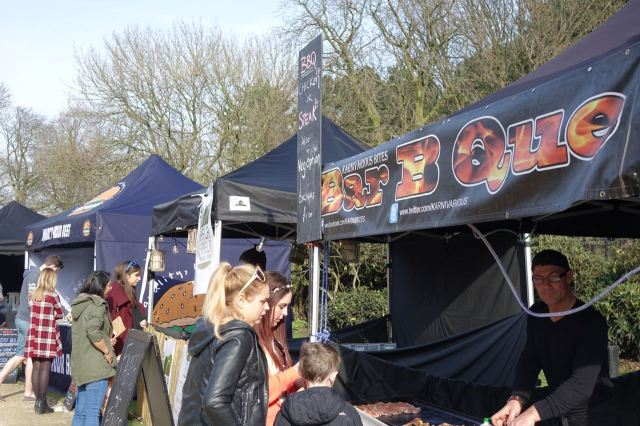 And lots of food stalls for me to pick from.