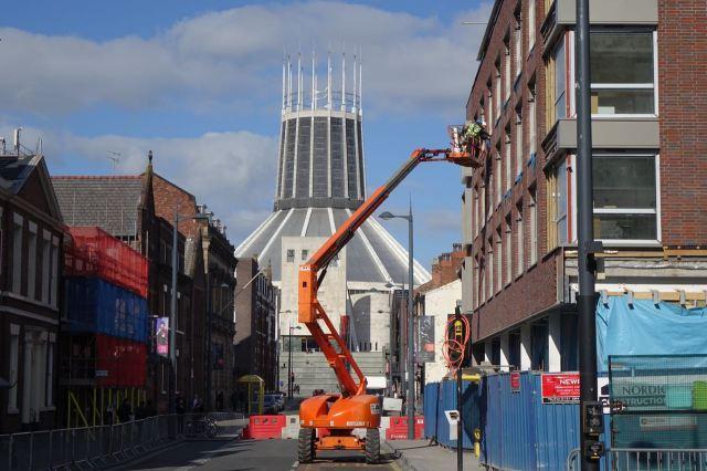 Walking away, the work of Orangey here, round the corner, looked a bit mundane.