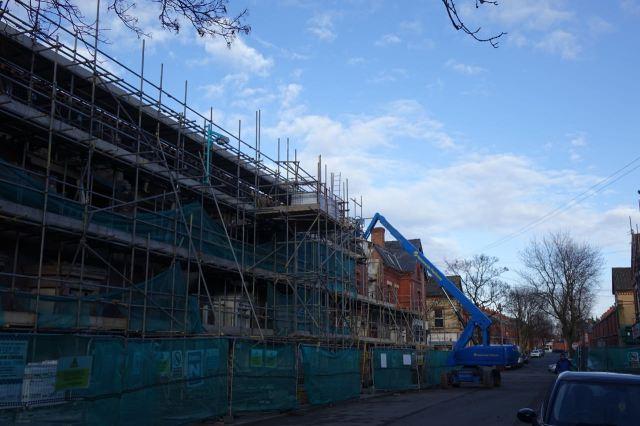 In Beaconsfield Street Plus Dane were still at work.