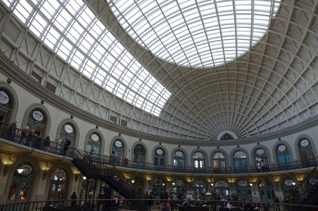 Another top roof, the Corn Exchange.