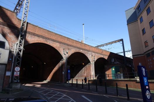 We'll be returning to the railway arches later.