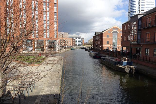 Then out through Holbeck Urban Village.