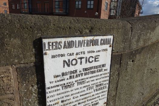Where the Leeds and Liverpool Canal starts.