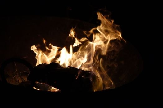See, here is one of Sarah's fires.