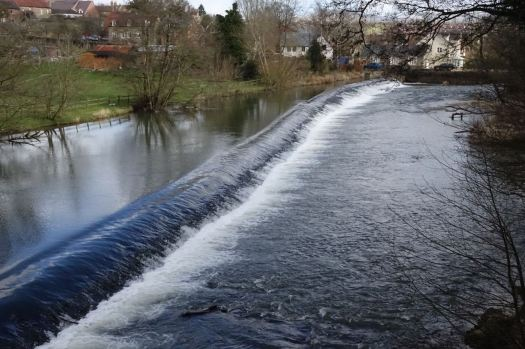 At the Weir...
