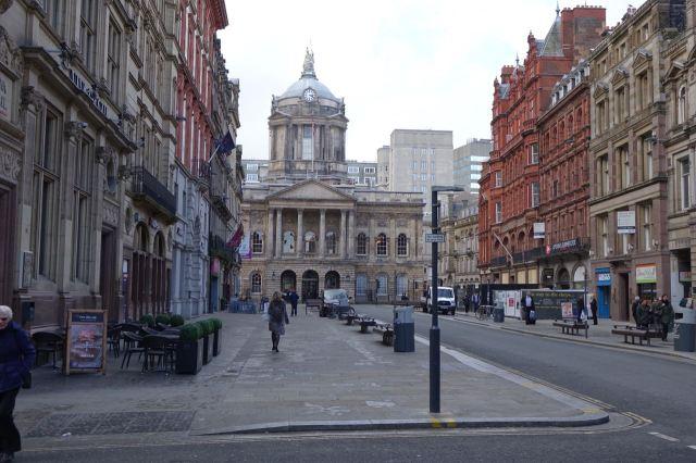 Along Castle Street we walk.