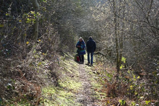 Then we begin our long descent to Blyton Common.