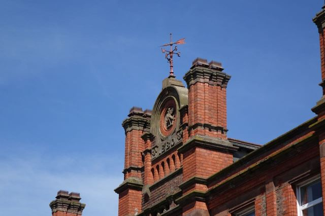 A survivng piece of old Granby Street, the school house.