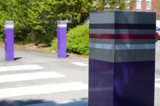 The high point of the bollard maker's art.