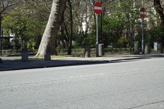 Then we get to Falkner Square.