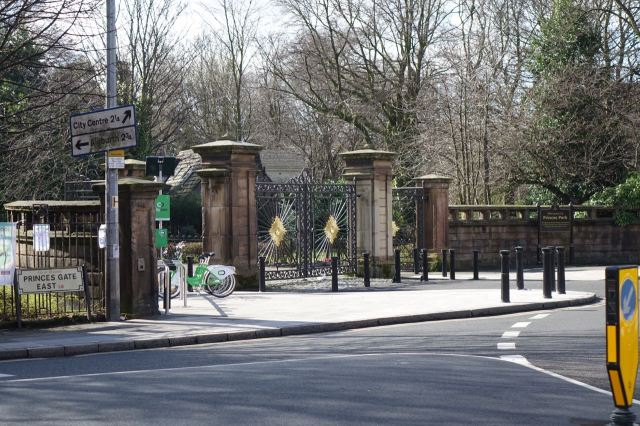 And our lovely gates on Princes Park.