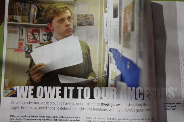 So I appreciated Owen's own views.
