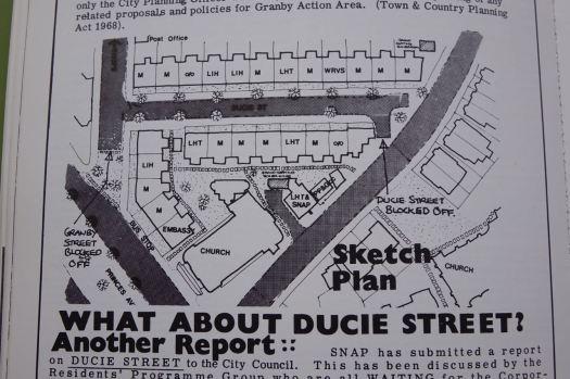 The sketch plan.