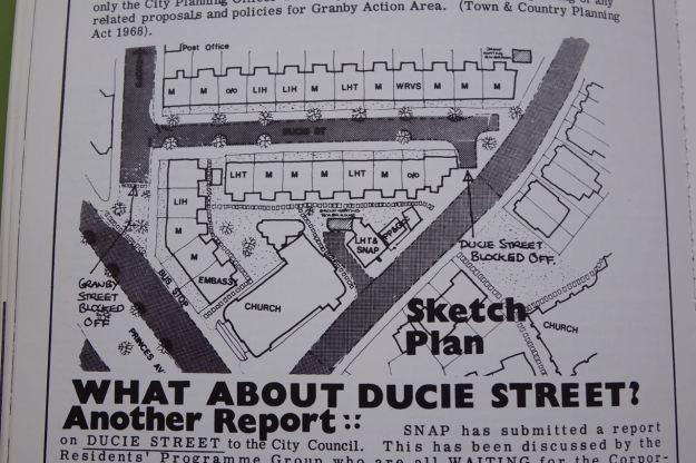 The sketch plan.