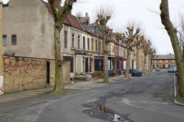 The remaining half of Hatherly Street.