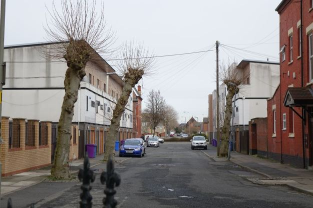 And the next street, Eversley Street, like this.