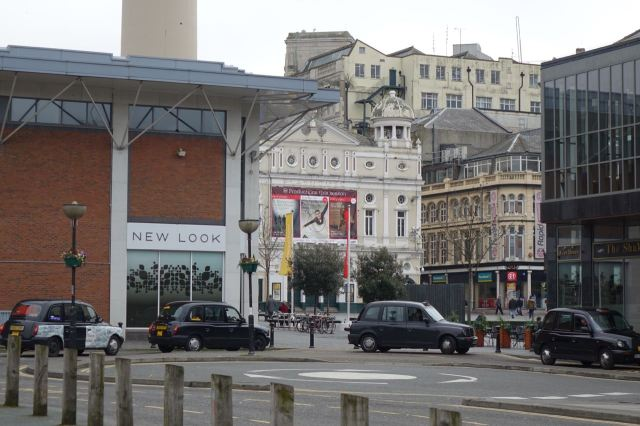 Having the nerve to share space with the Playhouse and the former George Henry Lee building. The one that says 'Poundland.