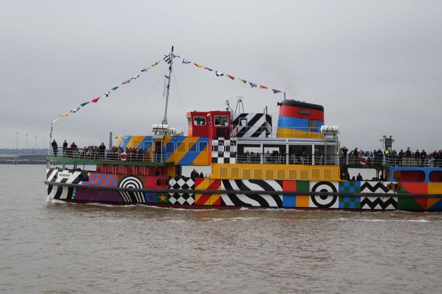 It's a Dazzle Ship.