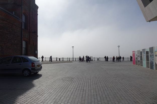 And when I come out Birkenhead's disappeared.