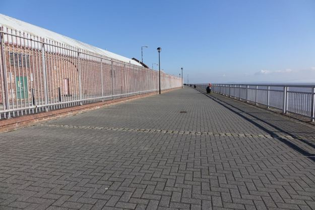 I've left the Pier Head crowds well behind now and I'm completely alone here.