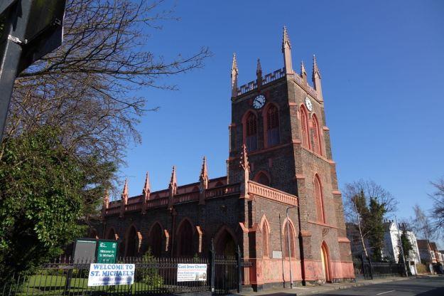 Past St Michael's.