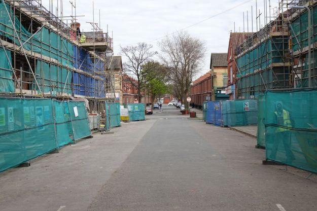 But before too long this Princes Avenue end of the street will look like the Kingsley Road end down there.