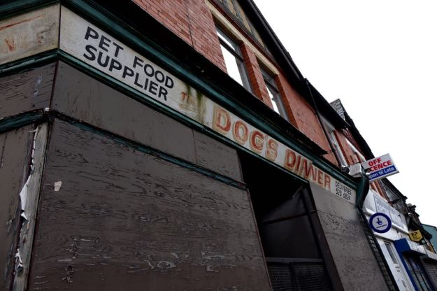 Even ancient shop signs being preserved.