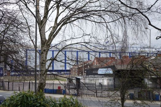 Welcome to Stanley Park. Just across the road from Everton FC's football ground.
