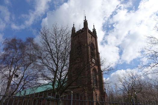 And back at Walton Church.